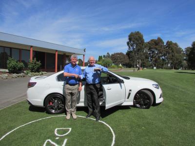 1. Marty receiving car.JPG